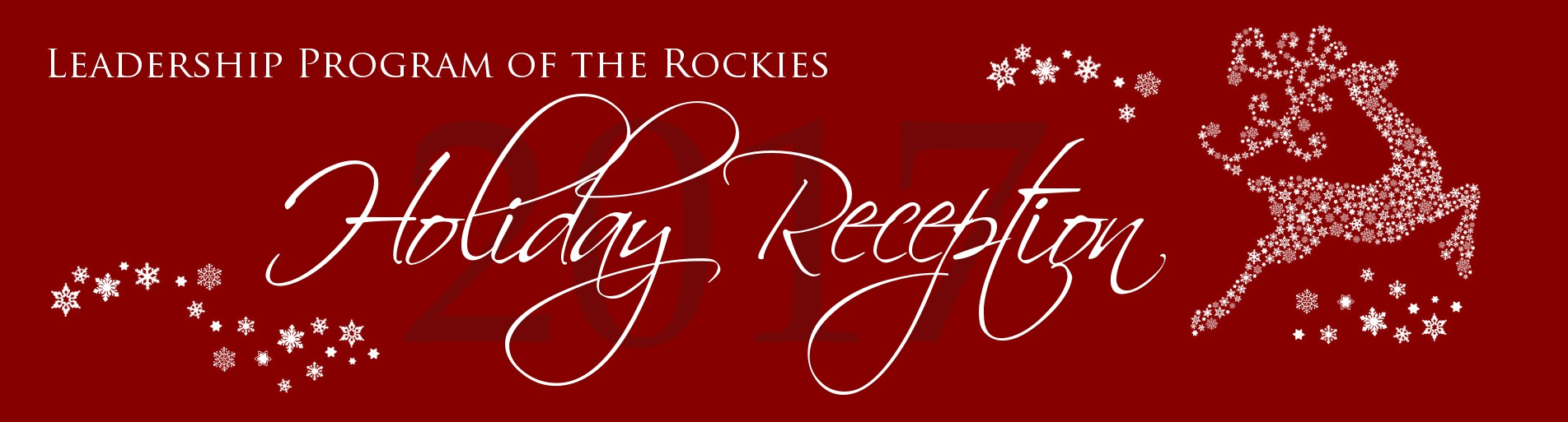 2017 Holiday Reception RSVP