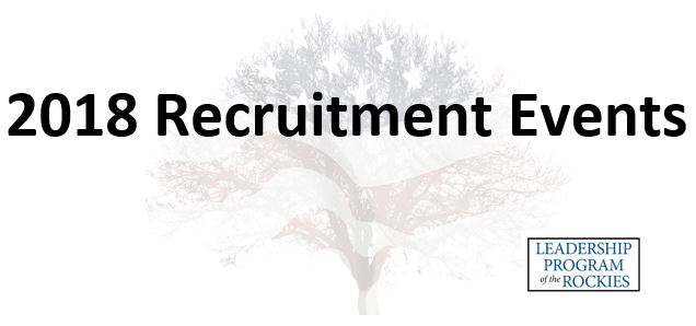 2018 LPR Recruitment Events